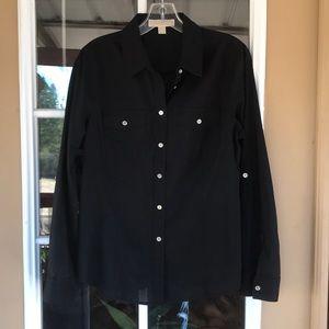 Micheal Kors Black Shirt